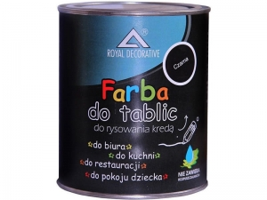 FARBA TABLICOWA DO TABLIC CZARNA ROYAL DECORATIVE